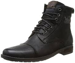 buy boots uae levi s maine black leather mens lace up mid ankle leather army