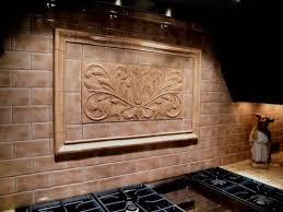 decorative backsplash handmade decorative backsplash using toulouse tile and plain frame