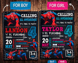 spiderman invitation spiderman invite spiderman birthday ben u0027s
