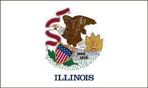illinois state flag coloring pages illinois illinois state and