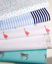 Percale Sheet Set Closeout Whim By Martha Stewart Collection Novelty Print Cotton