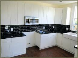 black backsplash in kitchen modern tile backsplash wonderful black and white kitchen design