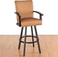 Wooden Swivel Bar Stool Stools With Backs And Arms U2013 Herbadams Me