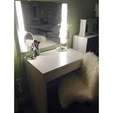 vanity desk with mirror ikea ikea micke desk makeup and hair vanity desk mirror swivel chair with