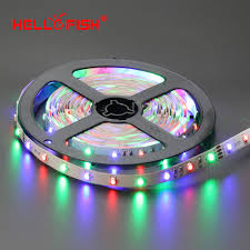 blue led strip lights 12v aliexpress com buy hello fish 3528 rgb flexible 300 smd led