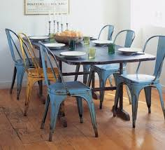 Tolix Dining Chairs Metal Cafe Chairs Apartment Therapy