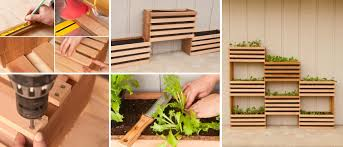 How To Build A Vertical Garden - wood for vegetable garden boxes home outdoor decoration