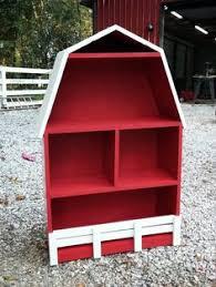 How To Make A Sling Bookcase John Deere Green Barn Shelf Storage Bookshelf Kids Bedroom