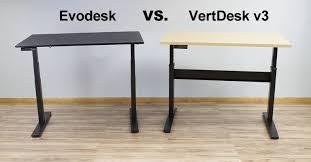 Electric Stand Up Desk Evodesk Vs Vertdesk V3 Which Electric Stand Up Desk Is Best