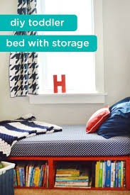 How To Build A Platform Bed With Trundle by Best 25 Diy Toddler Bed Ideas On Pinterest Toddler Bed Toddler
