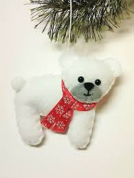 polar ornament personalized gift personalized
