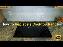 Kenmore Electric Cooktop How To Replace An Electric Cooktop Youtube