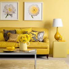 Gray And Yellow Living Room by New Home Design Ideas Theme Design Yellow And Gray Color