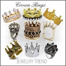 crown rings jewelry images Jewelry trend crown rings polyvore jpg