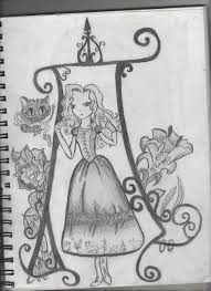 alice wonderland drawing thegamer24 deviantart