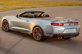 white chevy camaro convertible 2017 chevrolet camaro zl1 convertible drive motor trend