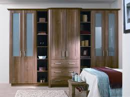 light walnut wardrobe bedroom custom built kitchens