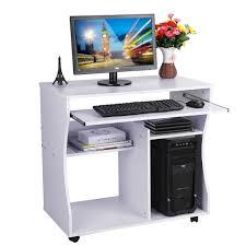 Mobile Computer Desks Workstations Laptop Computer Stand Black Corner Computer Desk Computer