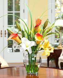 decorative floral arrangements home decorations home decor flowers online india home depot