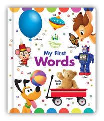 disney baby my words by disney book disney storybook