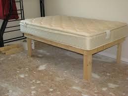 Diy Platform Bed Frame With Storage by Cheap Easy Low Waste Platform Bed Plans 7 Steps With Pictures