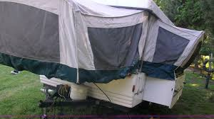 1998 coleman fleetwood natchez pop up camper item c1231
