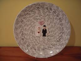 wedding guest book platter all fired up brides and babies