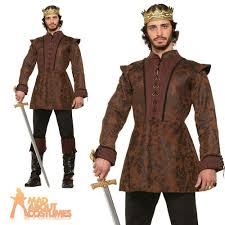 deluxe medieval kings coat mens book week day fancy dress
