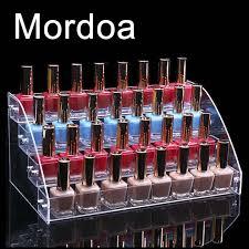2017 lipstick jewelry nail polish rack display stand holder 4 tier