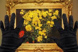 Vase With Red Poppies Why Does Van Gogh U0027s U0027poppy Flowers U0027 Keep Getting Stolen