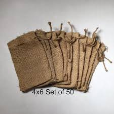 burlap wedding favor bags children display clothespin photo from treetopwoodworks on