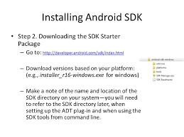 developer android sdk uichin kaise kse march 12 ppt