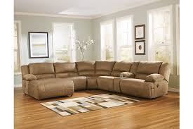 Sofa With Chaise And Recliner by Hogan 6 Piece Sectional Ashley Furniture Homestore