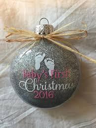personalized glitter ornaments christmas ornament glass