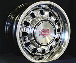 rims for 1968 mustang 1968 1969 mustang 14x7 styled steel 12 slotted wheel mustangs