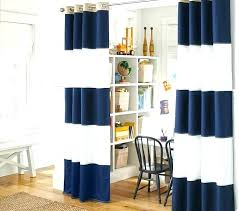 Blackout Navy Curtains Pottery Barn Blackout Curtains 8libre