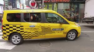 Ford Escape Yellow - ford hybrid taxi prototype youtube