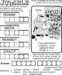 20 best jumble images on pinterest crossword puzzles jumble