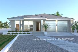 bedroom bungalow house design 4 plan in nigeria on plans de