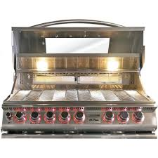Backyard Grill 5 Burner Gas Grill by Cal Flame 5 Burner Stainless Steel Top Gun Convection Propane Gas