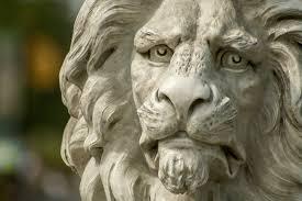 silver lion statue silver lion logo