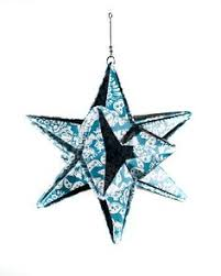 origami christmas star decoration origami christmas star