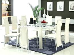 white glass dining table and 6 chairs u2013 mitventures co