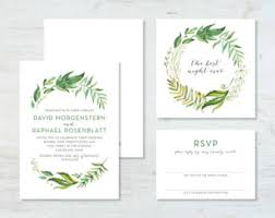 wedding invitations greenery greenery wedding invitations woodland wedding invitations