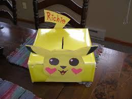 pikachu valentine box richie u0026 i made today valentine u0027s