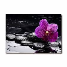 Tableau Deco Cuisine by Cuisine Tableau Orchidee Toile Imprimee Deco Murale Pas Cher