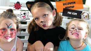 easy diy halloween makeup for kids youtube