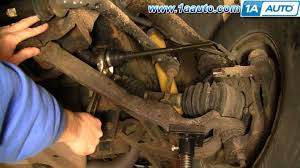 how to install replace inner steering tie rod linkage chevy