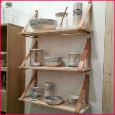 etageres de cuisine élégant et superbe étagères murales cuisine bois se rapportant à