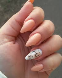 silver nail designs on natural short nails nails gallery